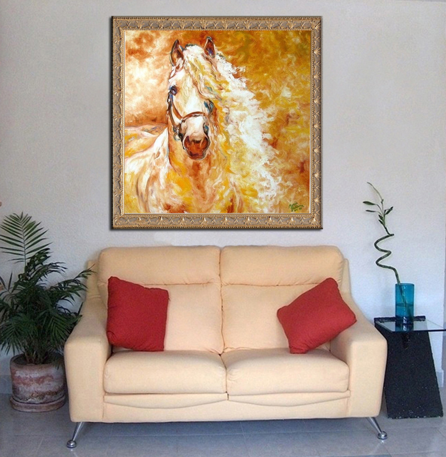 2018 Real Hot Sale Diamond Embroidery Diy Painting Handsome Horse Cross Stitch Needlework Mosaic Pattern Hobbies And Crafts