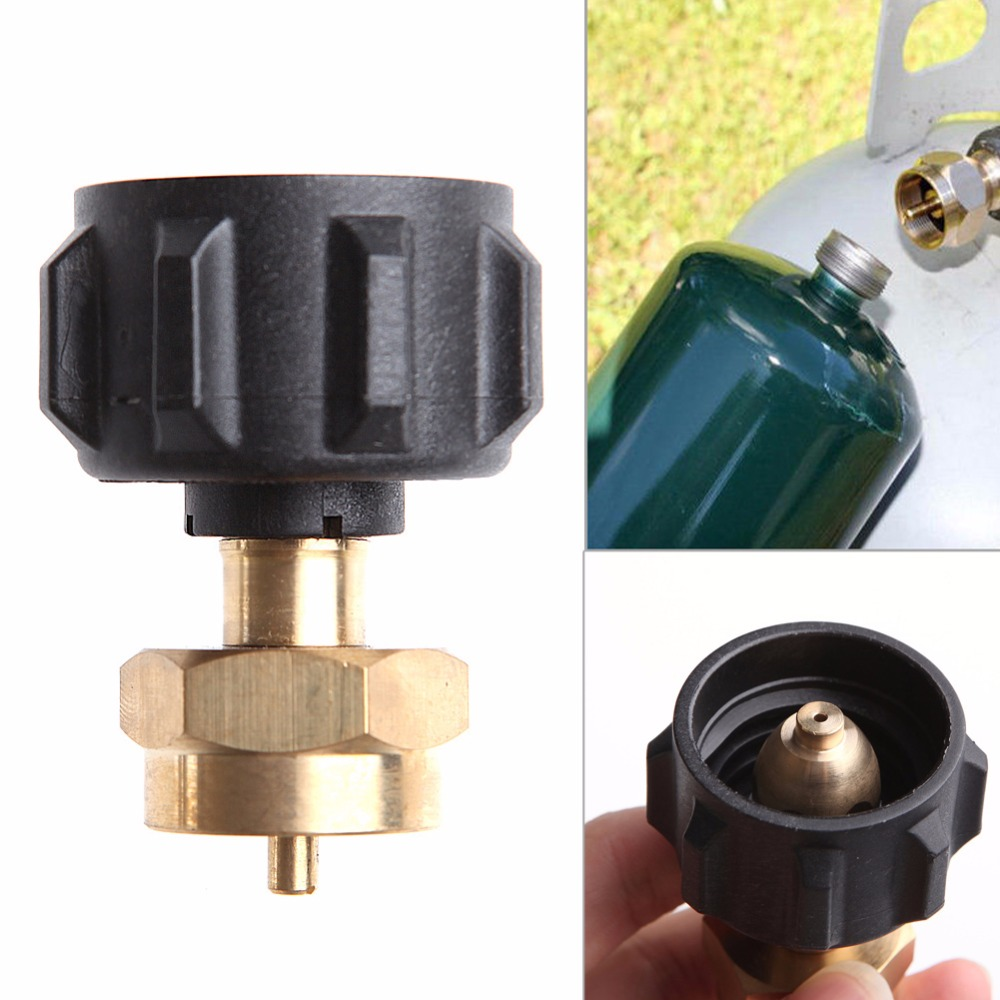 1 £ Gas Propano Regolatore Valvola QCC1 Propano Refill Adapter BARBECUE All'aperto Nuovo