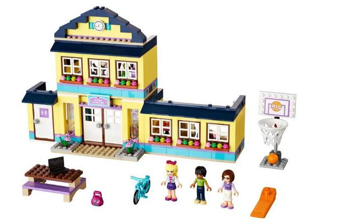 Amis Heartlake lycée filles terrain de basket-ball blocs de construction compatibles avec 41005 legoens briques jouets meilleur cadeau