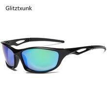 Glitztxunk 2017 Novos Óculos Polarizados Óculos De Sol Dos Homens Moda  Masculina Óculos Óculos de Sol 73b17c8938