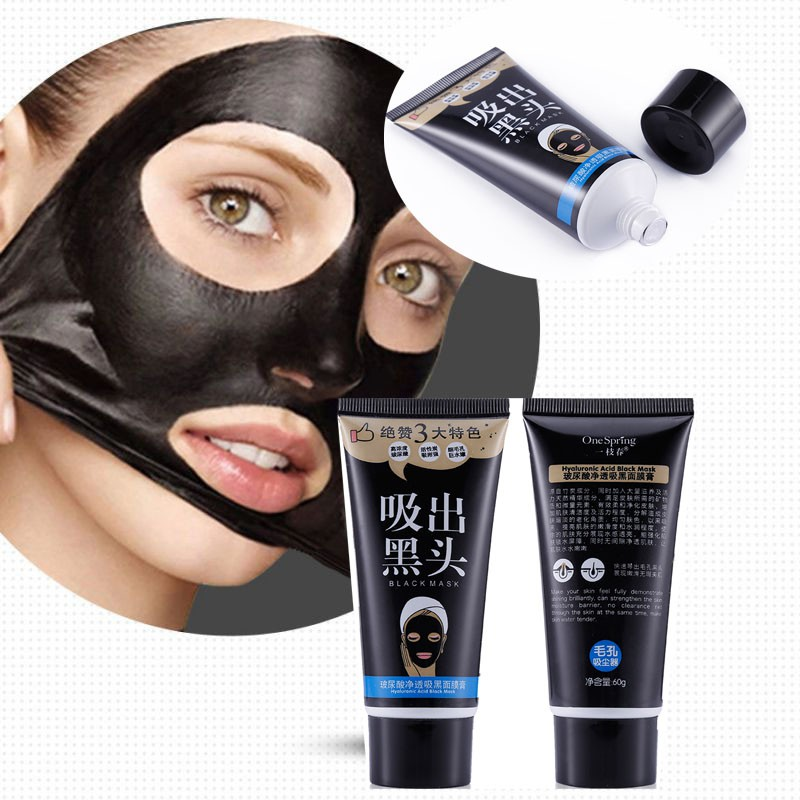 Blackhead Mask Mascara Black Head Peel Off Remover Face Suction Black Mask Shrink Pores Facial Care