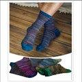Nueva Llegada de Moda Casual Hombres Calcetines de Alta Calidad Calcetines de Algodón de La Vendimia Masculina Envío Libre colores enviaron aleatoriamente MF01305