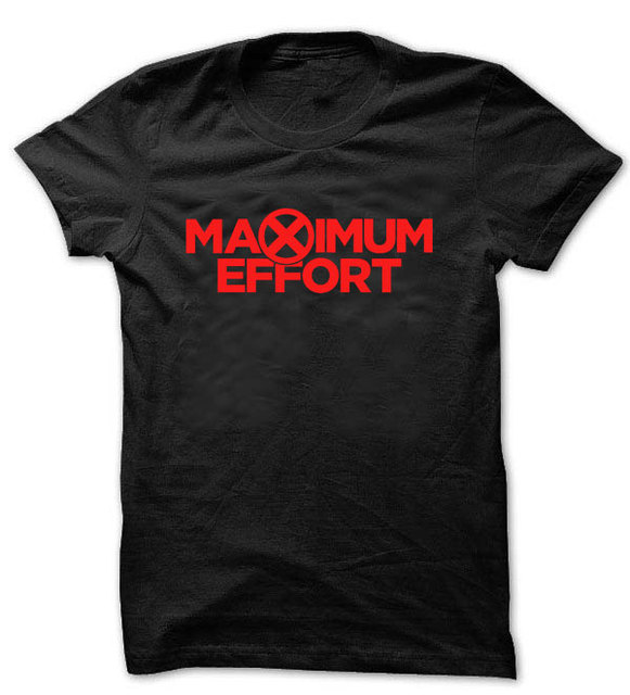 c0e4168bd2d314 Maximum Effort Deadpool T shirt Maximum Effort movie T shirt Dead Pool T1701