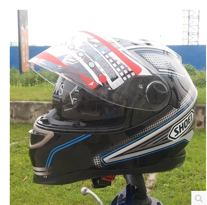 Special Offer Brand Shoei Full Face 4 Color Motorcycle Helmet Dot
