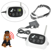 Waterproof In-Ground Rechargeable Pet Collar Electronic  Wireless Remote Pet Dog Fence Containment System for 1-2-3 Dog