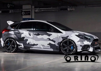 High quality Digital Camo Vinyl Car Wrap Black White Grey Camouflage Film Jungle Car Motorcycle Boat Decal Sticker