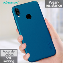 For Xiaomi Redmi Note 7 Case Pro Back Cover NILLKIN Super Frosted Shield Hard Plastic Phone Cases Fundas