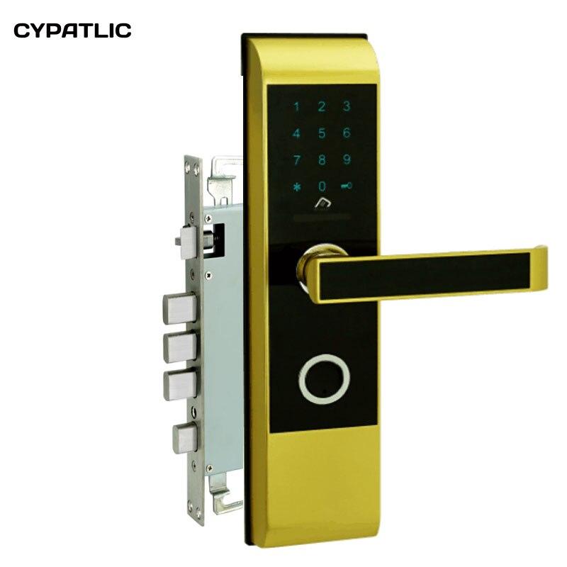 Электронный дом замок с кодом вход без ключа ворота, замки с M1 card reader