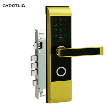 Electronic house lock with code keyless entry gate locks with M1 card reader