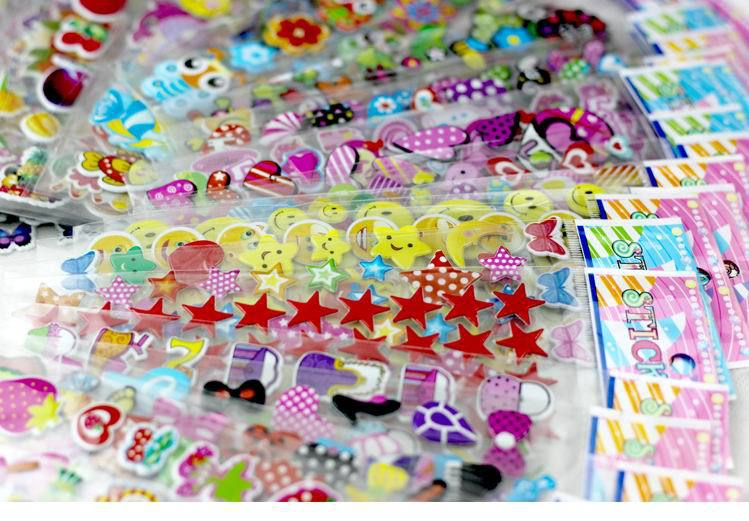 50 sheets children stickers for more than 700 PCs 21 5 6 8 cm Cartoon Pattern