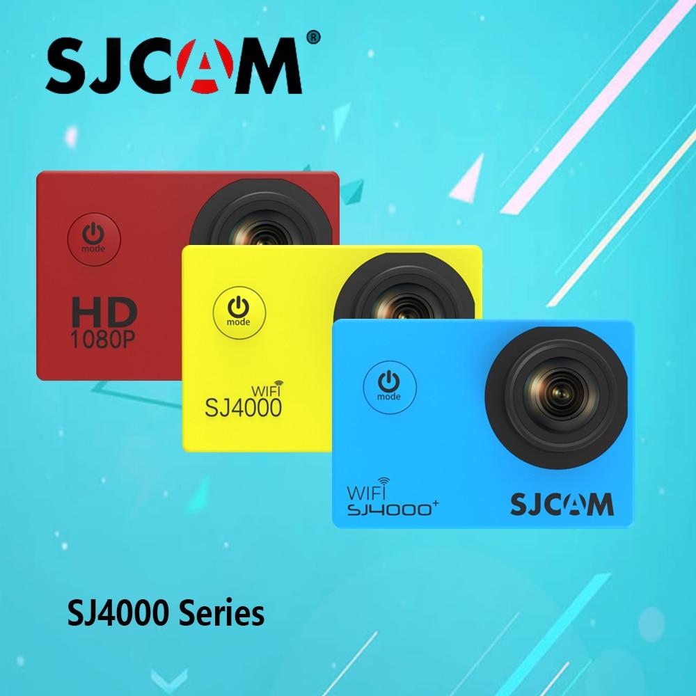 100% Ursprüngliche Sjcam 4000 Series Sj Cam Sj4000 & Sj4000 Wifi & Sj4000 Plus Action-kamera Wasserdichte Kamera 1080 P Sport Dv