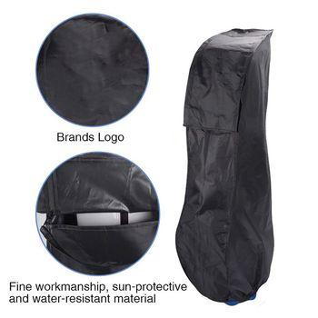 Golf Tasche Männer Schwarz Golf Regen Abdeckung Für Schuh Tasche Staub-beweis Wasserdicht Anti-statische Fall Schild Protector Oxford Tuch