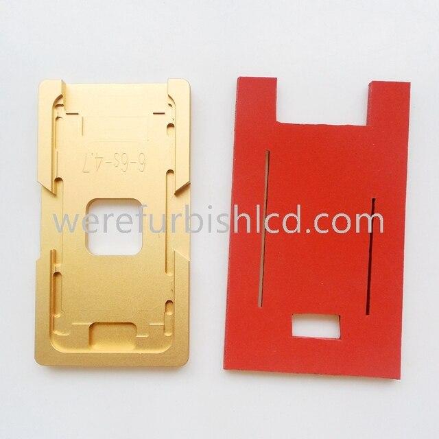 ОСА ламинатор силикагеля прокладка коврик для iphone 6 6 S оса Ламинатор машина форма для стекла с рамкой пользователя исправить плесень