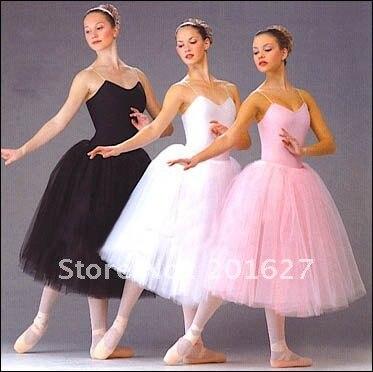 Ballet Skirt With Lace Tutu Long Purple Strap Dress