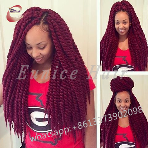 Crochet Braids Two Strand Twist Havana Mambo Synthetic Curly Hair