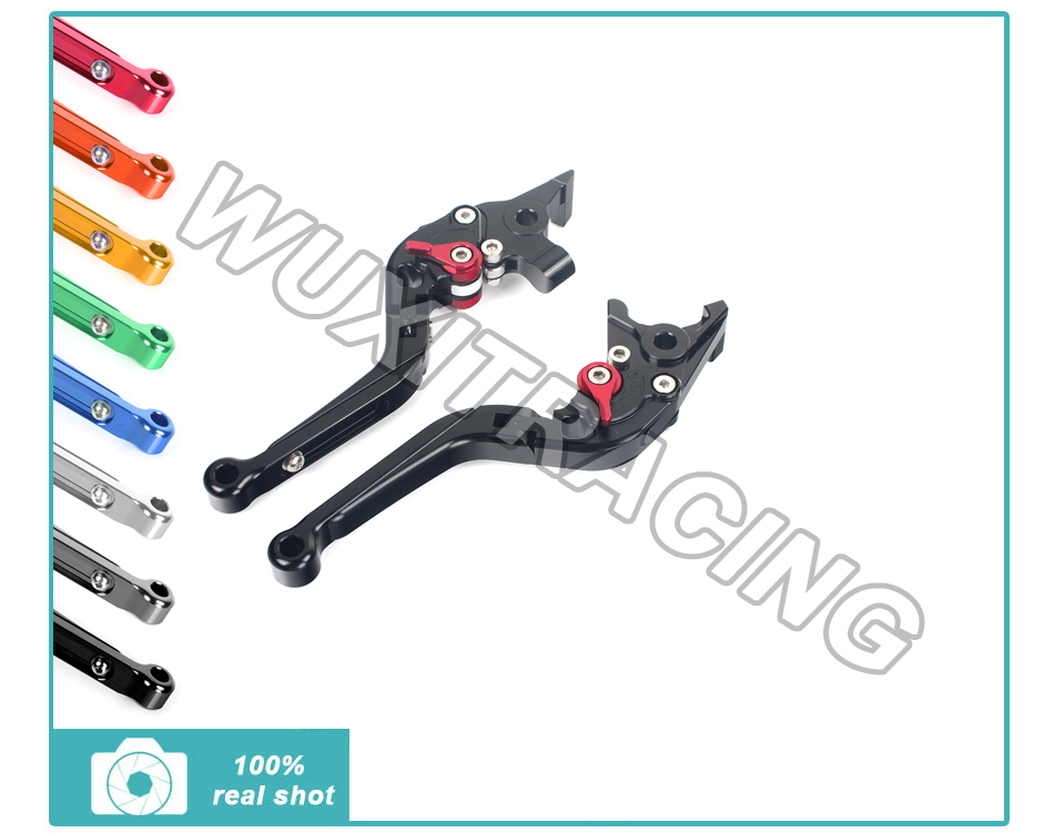 CNC Adjustable Extendable Folding Brake Clutch Lever For FZS 600 FZS600 Fazer 98-03 1998 1999 2000 2001 2002 2003
