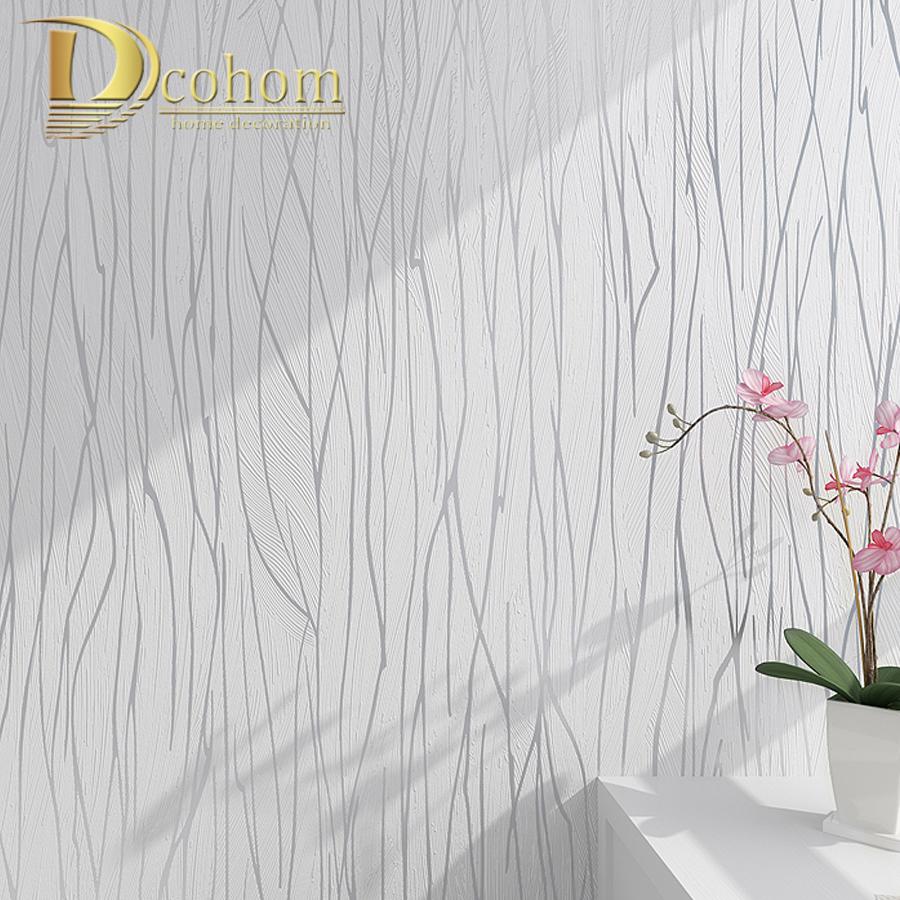 Neutral Plain Solid Color Modern Geometric Stripes Textured Wallpaper For Walls Gold Abstract Branches Wall Paper Home Decor men abstract print button plain jumpsuit
