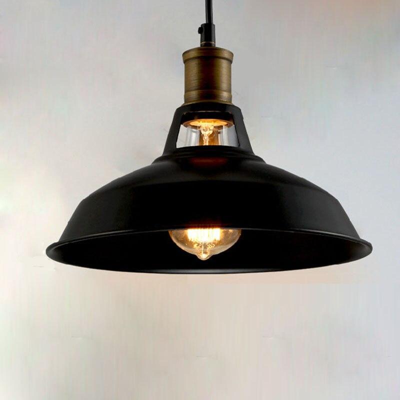 Industrielle Vintage Anhänger Lichter Loft RH Antike Schwarz/Weiß Anhänger Lampen für Restaurant/Bar/Kaffee Zimmer/esszimmer Beleuchtung