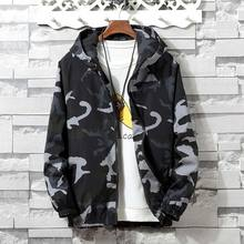 Brieuces camouflage Bomber Jacket Men Hip Hop Slim Fit Flowers Pilot Bomber Jacket Coat Men's Hooded Jackets Plus Size XS- 4XL недорого