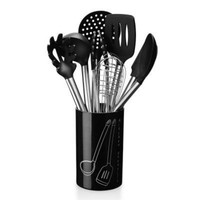 9PCS Silicone Kitchenware Cooking Spoon Soup Ladle Egg Spatula Turner Kitchen Tools Cooking Utensil Set Dinnerware Tools