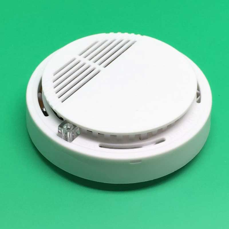 Professional Stable Photoelectric Wireless Smoke Detector Fire Alarm Sensor for Indoor Home Safety Garden Security 433mhz wireless smoke detector independent fire alarm sensor 360 degrees indoor home safety garden security smoke alarm