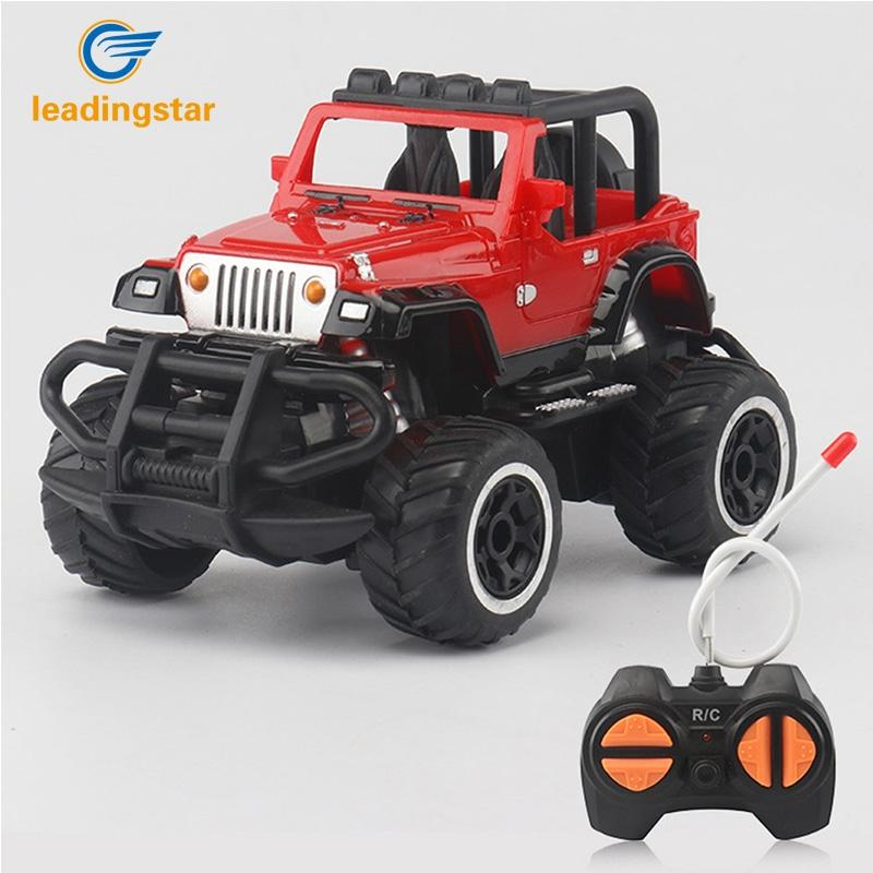 LeadingStar 1 43 Mini RC Cars Off road 4 Channels Electric Vehicle Model Toys as Gifts