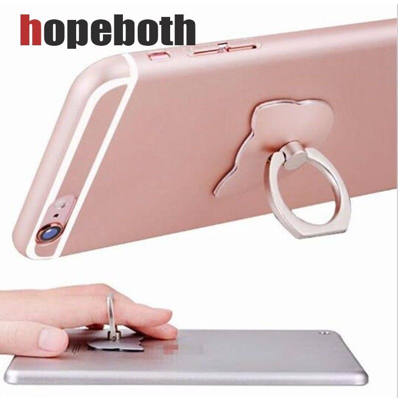 Палец телефон кольцо держатель 360 градусов мобильного телефона стол подставка держатель для samsung S8 iPhone7 Универсальный телефон, подставка-де…