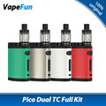 Original 200W Eleaf Pico Dual TC Kit w/ Pico Dual Box Mod 200W MELO 3 III Mini Tank Atomizer 2ml v Eleaf istick Pico Dual TC Mod