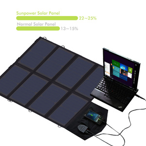 Image 4 - 40W Solar PANEL Charger แบบพกพาแบตเตอรี่ชาร์จ 5V 12V 18V สำหรับโทรศัพท์มือถือแท็บเล็ตแล็ปท็อป 12V ฯลฯ