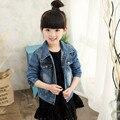 Baby Girls Denim Jackets 2016 Fashion Child Jean Jacket Children Clothing Spring Autumn Girls Jacket Coat Tops