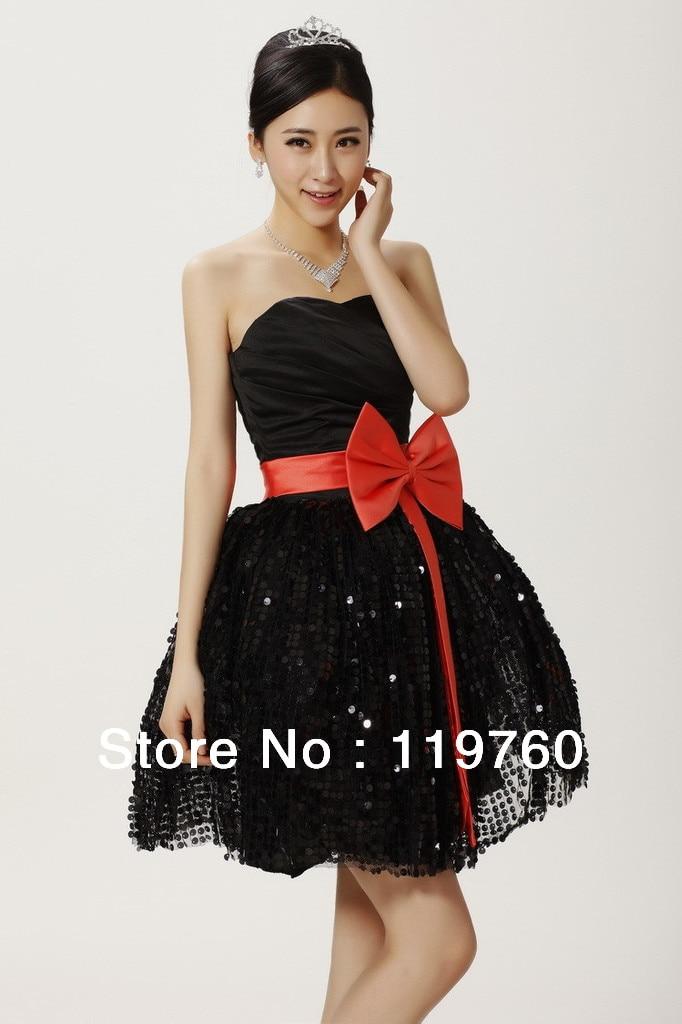 Aliexpress.com : Buy 2014 New Fashion Sweet Bowknot Short Prom ...