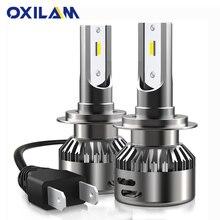 터보 H7 LED Canbus 미니 자동차 헤드 라이트 전구 메르세데스 벤츠 W203 W204 W205 W210 W212 W211 W124 헤드 램프 높은 낮은 빔 H4 9003