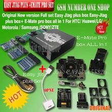 New version Full set Easy Jtag plus box Easy Jtag plus box+ EMATE PRO EMMC socket  For HTC/ Huawei/LG/ Motorola /Samsung /SONY