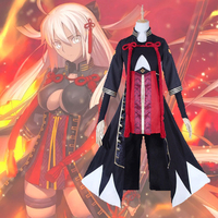 Game Fate Grand Order Cosplay Costume Okita Souji Alter Cosplay Dress Costumes Halloween Carnival Party Saber Cosplay Costumes