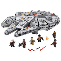 Star Wars Millennium Falcon Outer Space Space Ship Building Blocks Model Toys Gift Compatible With Legeod