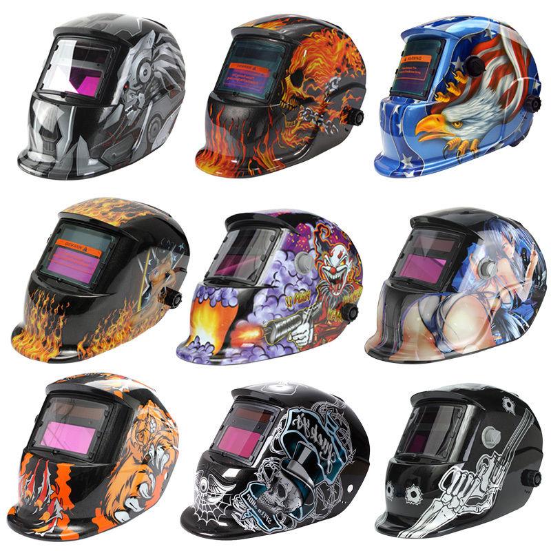 Protector Solar Auto Darkening Welding Helmet Arc Tig Mig Mask Grinding Welder Mask Mig Tig Arc Welder Mask image selec t