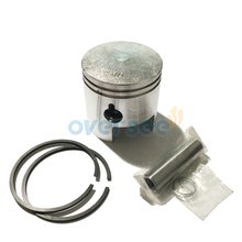 350-00001-1 60MM Piston kit with ring set for Tohatsu Nissan 18HP M NS Outboard engine boat motor brand new aftermarket part