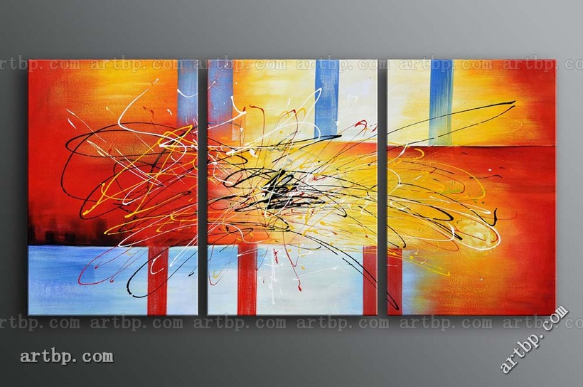 Modern abstract art canvases gallery for Modern oil painting ideas