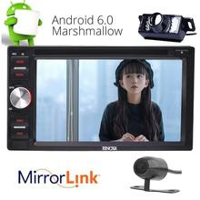 Front & Rear Camera as Gifts! Android 6.0 Car DVD Player GPS Navigation Audio Multimedia with Wifi support OBD 3G/4G Mirror Link