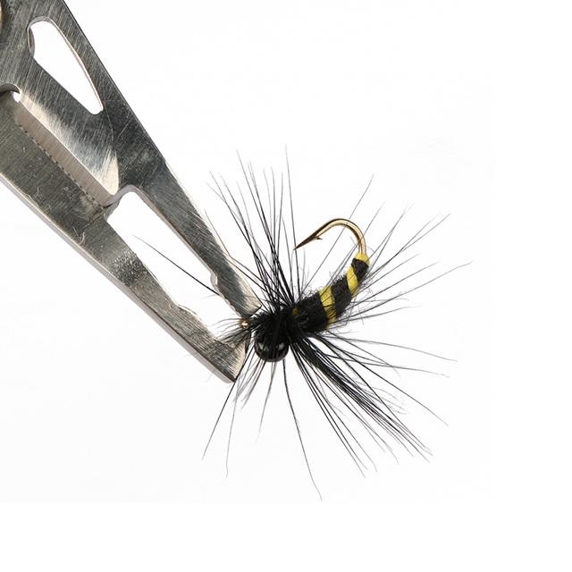 Goture 10pcs/lot Multifunctional Bionic Fly Fishing Lure Hook 10# Flies for Carp Bass Salmon Trout Fishing