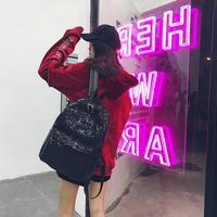 MOLAVE Backpacks High Quality Shinning Glitter Bling Backpack Preppy Style Sequins Travel Satchel Backpack Women Mar22