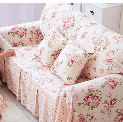 Drop Shipping Single/Double/Three/Four Seat Floral Couch Sofa Cover Housse  Canape