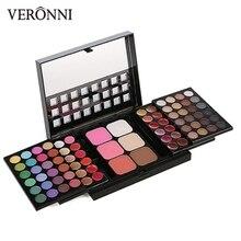 цена на Eye shadow Palette 78 Brand Cosmetic Glitter VERONNI 3 Layer Design eyeshadow Makeup Urban pigment Make up Palettes Eyeshadows