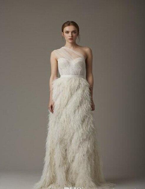 vestidos de novia baratos plumas de lujo vestidos de novia 2017 de