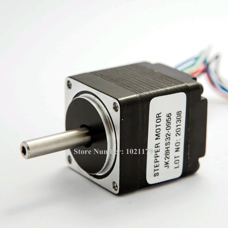 New nema 11 stepper motor 2 phase 6 leads 32mm small for 3 phase stepper motor