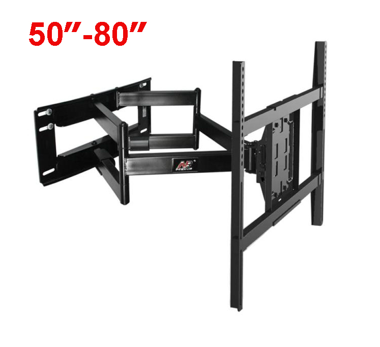 """NB SP5 50""""-80"""" Flat Panel LED LCD TV Wall Mount Full Motion Heavy Duty Monitor Holder 6 Swing Arms"""