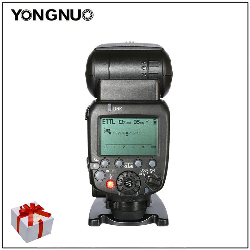 Yongnuo YN600EX-RT YN-600EX-RT HSS Master Wireless TTL Flash Speedlite For Canon 5DIII D4 D3x D3s D700 D300s D300 D7000 D90 D80 yongnuo yn e3 rt flash speedlite transmitter suit for canon 600ex rt as st e3 rt