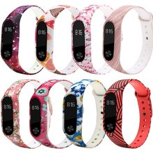 Miband 2 Strap Belt Silicone pulseira Colorful Wristband wriststrap for Mi Band 2 Smart Bracelet for Xiaomi Mi Band 2(China)