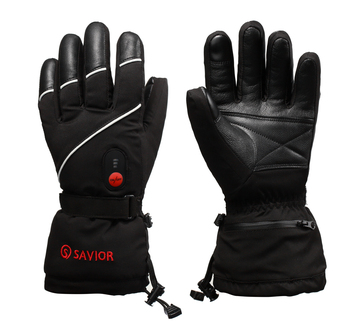Unisex Electric Heated Ski Gloves Water Resistance Windproof Carbon Fiber Battery Heated Gloves heating pads cold weather heated socks usb lithium battery cotton material leg warmers carbon fiber electric heated health care