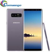 Оригинальный samsung Galaxy Note 8 6 ГБ Оперативная память 64 ГБ Встроенная память 6,3 дюймов Восьмиядерный две задних камеры 12MP 3300 мАч разблокированны
